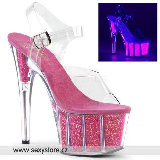 ADORE-708UVG Růžové svítící boty ADO708UVG/C/NHP