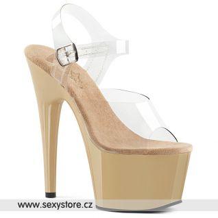 ADORE-708 ADO708/C/CR Tělové taneční sexy boty