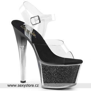SKY308G-T/C/BGI černé taneční boty