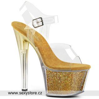 SKY-308G-T zlaté taneční boty SKY308G-T/C/GGI