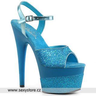 Světle modré sexy boty ADORE-709-2G ADO709-2G/AQG/M