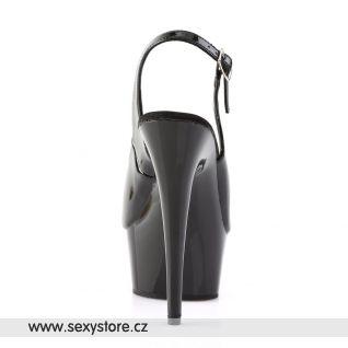černá sexy obuv DELIGHT-654