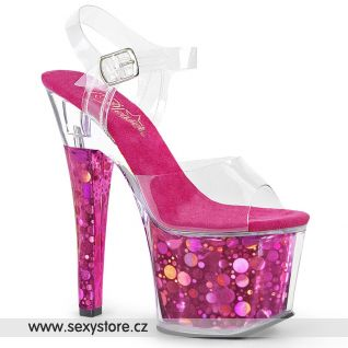 RAD708BHG/C/FS tmavě růžové sexy boty
