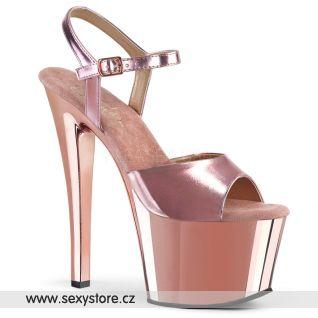 Sandály na vysokém podpatku a platformě SKY309/ROGLDPU/M