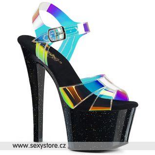 SKY320MMR/MRTPU/B Sexy boty na vysokém podpatku