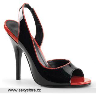 Černé sexy lodičky SEDUCE-117/BR