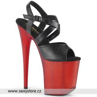 Taneční boty na extrémním podpatku FLAM822T/BPU/R