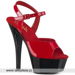 Svůdné sexy boty na vysokém podpatku KISS209/R/B