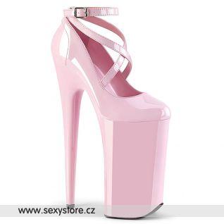 BEYOND-087 Růžové boty na nejvyšším podpatku BEY087/BP/M