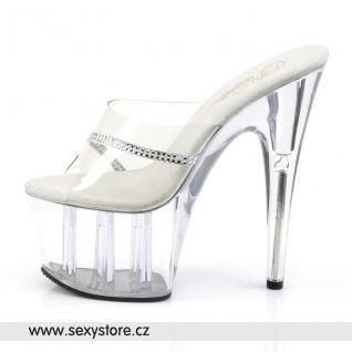 Svůdné taneční gogo boty ADORE-701R skladem