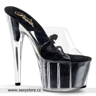 sexy pantofle na platformě a podpatku ADORE-701-4/C/B