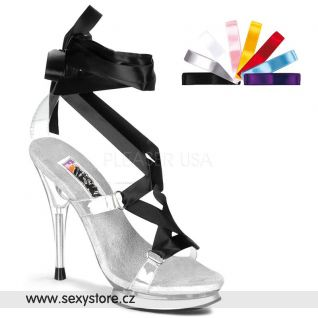 Sandálky s vyměnitelnou mašlí FAIRY-08/C