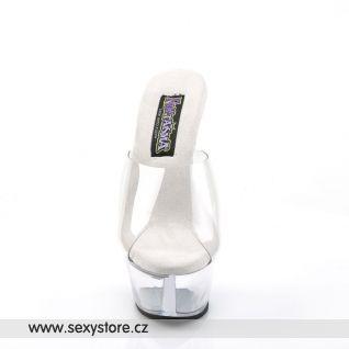 Průhledné sexy boty PRINCESS-201/C