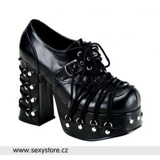 punková dámská obuv CHARADE-35/B/PU