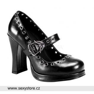 Goth dámské lodičky CRYPTO-05