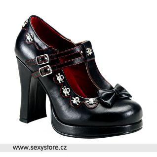 Goth dámské lodičky CRYPTO-06