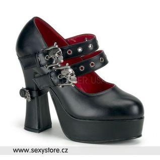 Goth dámské lodičky DEMON-16