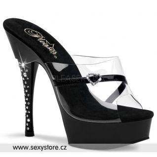Erotická obuv DIAMOND-601H/CB/B