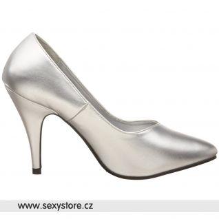 Stříbrné dámské lodičky DREAM-420W/S