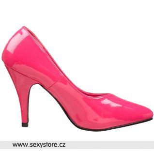 Tmavě růžové dámské lodičky DREAM-420W/HP