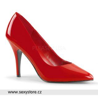 Červené dámské lodičky VANITY-420/R