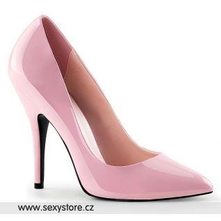 Klasické růžové dámské lodičky SEDUCE-420/BP