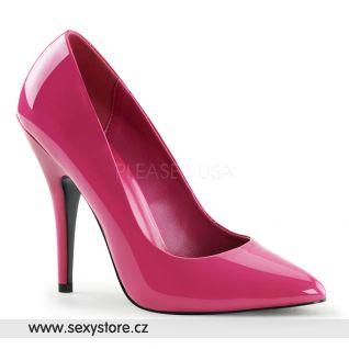 Tmavě růžové dámské lodičky SEDUCE-420/HP