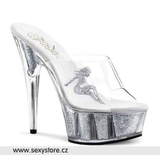 DELIGHT-601-4C/SG sexy obuv na podpatku