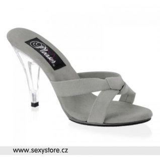 Šedivé sandálky CARESS-401-4/TP/SUE
