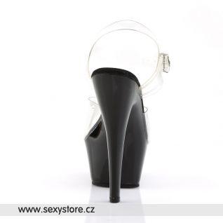 KISS-208/C/B sexy obuv na podpatku