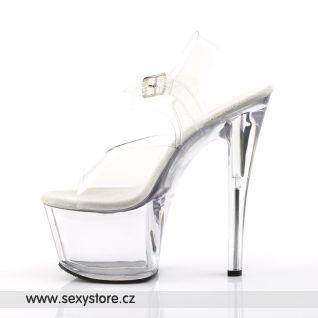 Gogo a taneční sexy boty SKY-308/C/M na podpatku