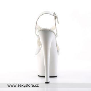 Bílé sexy boty SKY-330/W/M