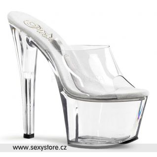 průhledné sexy boty Pleaser TREASURE-701