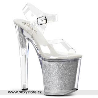 XTREME-808G/C/SG Sexy boty na vysokém podpatku a platformě