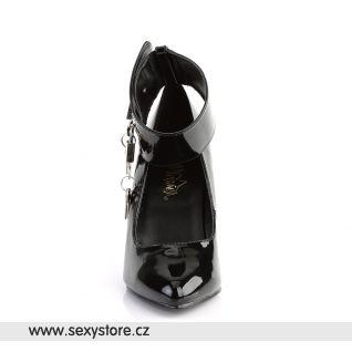 Černé lodičky VANITY-434/B se zámkem