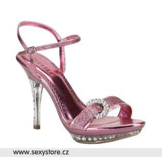 plesová obuv MONET-09 růžová