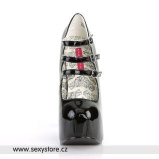 Černé dámské lodičky TEEZE-05/B