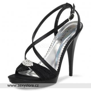 Černé plesové boty REVEL-07/BSA skladem