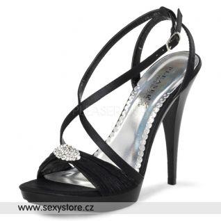 Černé plesové boty REVEL-07/BSA
