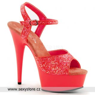 Luxusní sexy obuv DELIGHT-609UVG/NCRL/M
