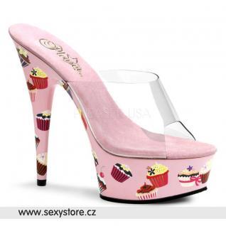 Velmi sexy levné a pohodlné dámské taneční boty MOTIF-601CC/C/BP