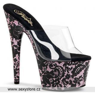 Sexy obuv na podpatku a platformě MOTIF701LA/C/BBP