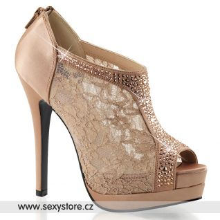 Luxusní dámská obuv BELLA-26 na podpatku