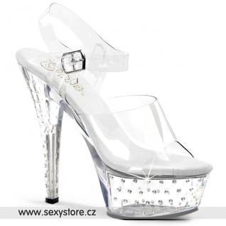 Sexy boty na podpatku STARDUST-608/C/M