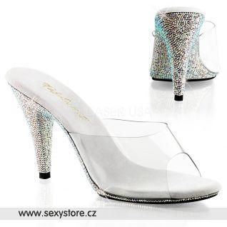 Sexy pantofle CARESS-401DM/C/SMCRS