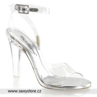 Průhledné sandály CLEARLY-406/C