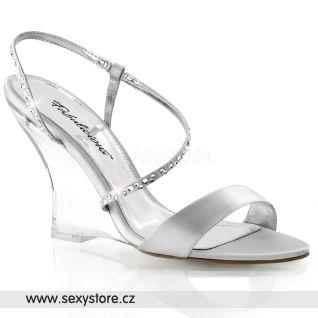 Sandálky na klínku LOVELY-417/SSA/C