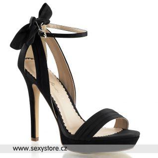 Plesová obuv na podpatku a platformě LUMINA-25/BSA