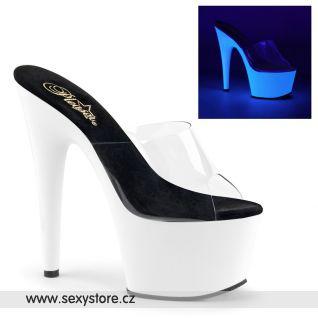 ADORE-701UV/C/NW svítící sexy pantofle