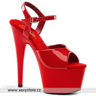 ADORE-709/R/M Červené sexy boty